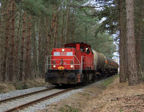 DB Cargo 6416 @ Delden