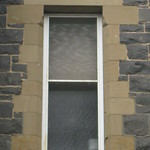 Window Detail of the Former Saint George's Presbyterian Church Manse - Corner of Latrobe Terrace and Ryrie Street, Geelong
