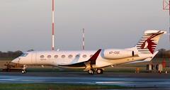 A7-CGC Gulfstream G650 Qatar Executive NWI 150120