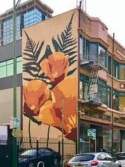 Oakland & Berkeley, CA Street Art, Murals, etc.