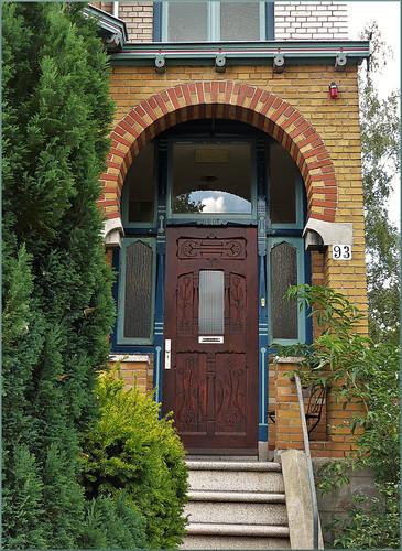 Door in Zutphen