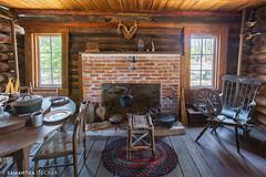 McCullen-Coachman Cabin Living Room