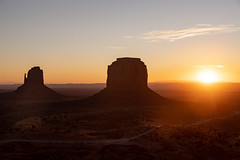 Sunrise Behind the Buttes