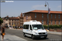 Mercedes-Benz Sprinter – Grand Sud (Alcis) / Tisséo - Photo of Lacroix-Falgarde