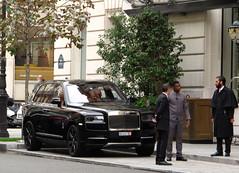 Rolls-Royce Cullinan 6.75 V12 from Switzerland