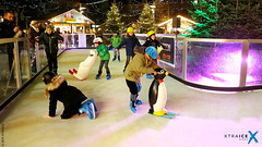 Synthetic ice rink in Oberhausen, Germany
