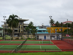 Courts and Coloured Buildings