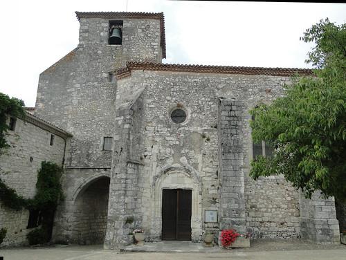 Lot-et-Garonne. Pujols. Église Saint-Nicolas (16e S)