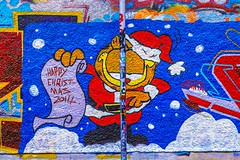 STREET ART PHOTOGRAPHED ON THE LAST DAY OF 2014 [HANOVER QUAY HAS GREATLY CHANGED SINCE THEN]-159165