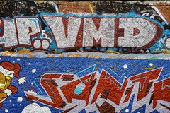 STREET ART PHOTOGRAPHED ON THE LAST DAY OF 2014 [HANOVER QUAY HAS GREATLY CHANGED SINCE THEN]-159164