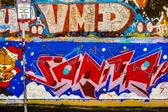 STREET ART PHOTOGRAPHED ON THE LAST DAY OF 2014 [HANOVER QUAY HAS GREATLY CHANGED SINCE THEN]-159167