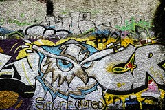 STREET ART PHOTOGRAPHED ON THE LAST DAY OF 2014 [HANOVER QUAY HAS GREATLY CHANGED SINCE THEN]-159171