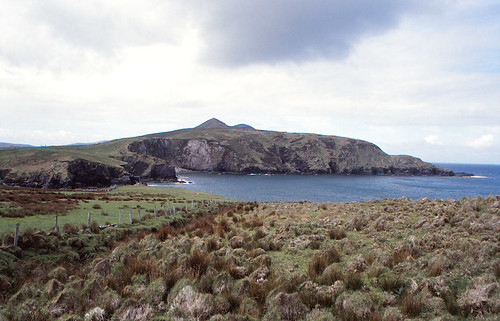 The cliffs and the North Atlantic