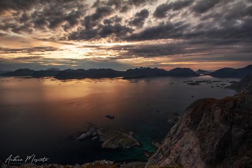 Festvågtinden Viewpoint - Lofoten Islands (Norway)
