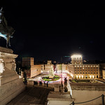 Piazza Venezia view from il Vittoriano and Monumento a Vittorio Emanuele II - https://www.flickr.com/people/160557051@N07/