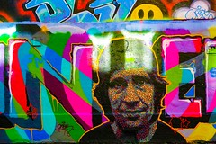 STREET ART PHOTOGRAPHED ON THE LAST DAY OF 2014 [HANOVER QUAY HAS GREATLY CHANGED SINCE THEN]-159161