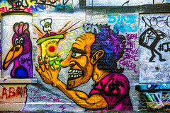 STREET ART PHOTOGRAPHED ON THE LAST DAY OF 2014 [HANOVER QUAY HAS GREATLY CHANGED SINCE THEN]-159163