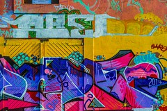 STREET ART PHOTOGRAPHED ON THE LAST DAY OF 2014 [HANOVER QUAY HAS GREATLY CHANGED SINCE THEN]-159172