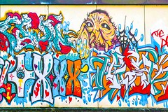 STREET ART PHOTOGRAPHED ON THE LAST DAY OF 2014 [HANOVER QUAY HAS GREATLY CHANGED SINCE THEN]-159174