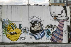 STREET ART PHOTOGRAPHED ON THE LAST DAY OF 2014 [HANOVER QUAY HAS GREATLY CHANGED SINCE THEN]-159178