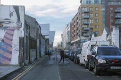 STREET ART PHOTOGRAPHED ON THE LAST DAY OF 2014 [HANOVER QUAY HAS GREATLY CHANGED SINCE THEN]-159180