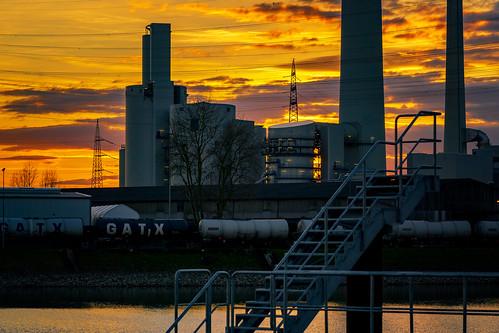 Power sunset...