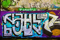 STREET ART PHOTOGRAPHED ON THE LAST DAY OF 2014 [HANOVER QUAY HAS GREATLY CHANGED SINCE THEN]-159170
