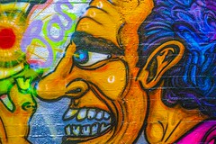 STREET ART PHOTOGRAPHED ON THE LAST DAY OF 2014 [HANOVER QUAY HAS GREATLY CHANGED SINCE THEN]-159162