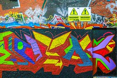 STREET ART PHOTOGRAPHED ON THE LAST DAY OF 2014 [HANOVER QUAY HAS GREATLY CHANGED SINCE THEN]-159168