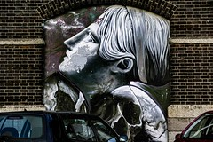 STREET ART PHOTOGRAPHED ON THE LAST DAY OF 2014 [HANOVER QUAY HAS GREATLY CHANGED SINCE THEN]-159181