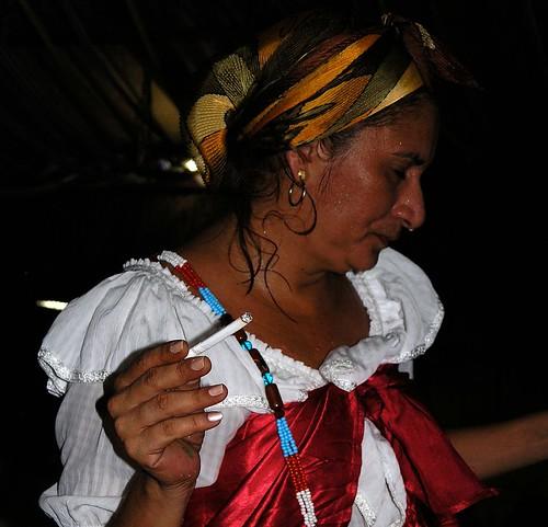 Umbanda - Candombé ceremony; Brazil 2004