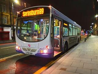 Glasgow First Bus SF06 HBA 69119