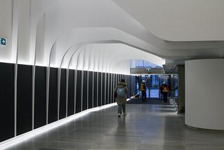 New subway entrance/33 Bloor St. E.