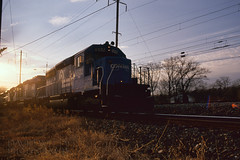 Conrail Backlit With Flare