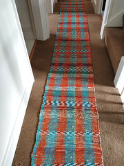 Rug woven by Janey