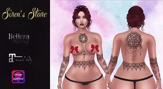:::Siren's Store::: Ebonny Tattoo