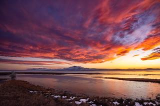 Antelope Island Sunset (1 of 1)