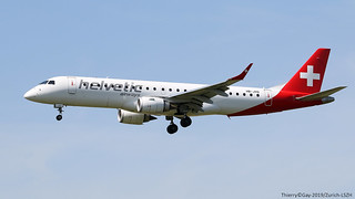 HB-JVQ Helvetic Airways Embraer ERJ-190LR (ERJ-190-100 LR)
