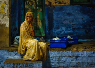Early morning portrait, Jodhpur
