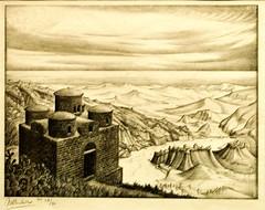Cattolica Di Stilo (1930) - Maurits Cornelis Escher