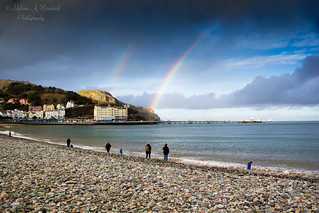 Rainbow over the Pier