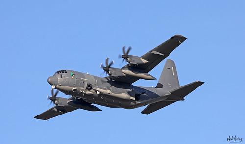 United States Air Force Lockheed AC-130J Ghostrider 14-5797, 4th SOS departing NAS Rota/LERT