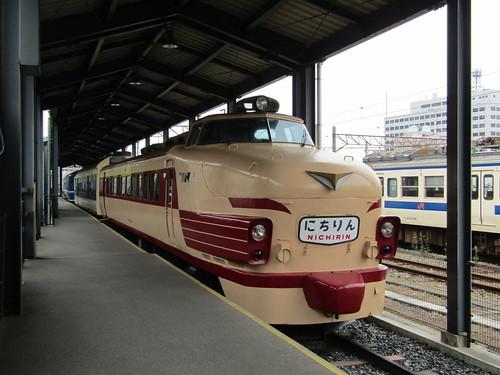 JNR Kuha 481-603 at Kyushu Railway History Museum, Mojiko