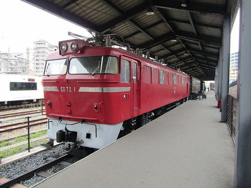 JNR ED72-1 at Kyushu Railway History Museum, Mojiko