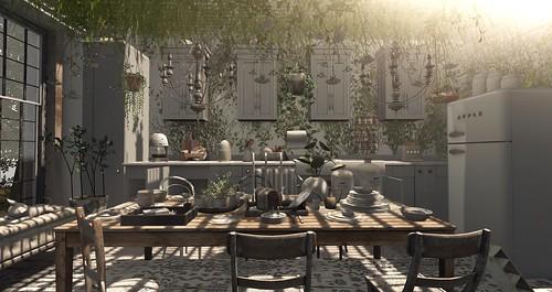 Darcy's Kitchen...