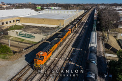 BNSF 6422 | GE ES44AC| NS Memphis District West End