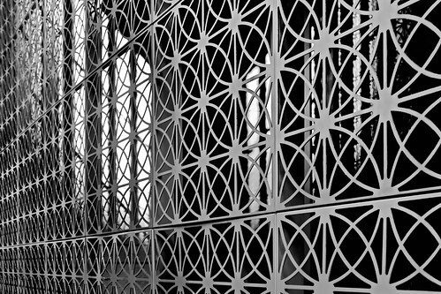 the closed gate