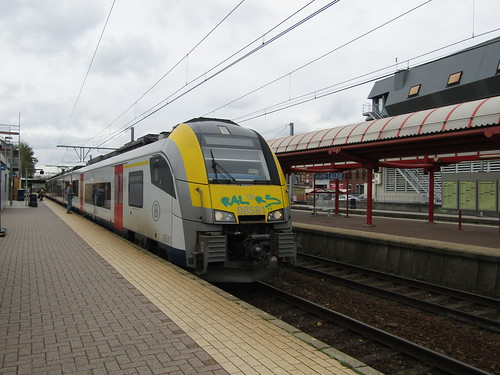 NMBS 08581 at Braine L'Alleud