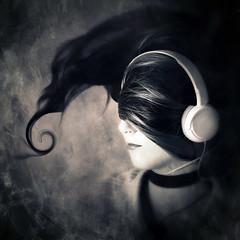 Cd Cover Portrait Headphones Hair Edited 2020