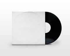 Blank Vinyl Record Jacket Record Edited 2020